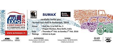 Auto Expo 2016 Invite